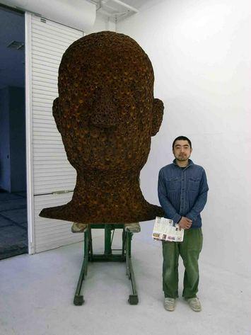 安慶田さんの個展に行きました。その1