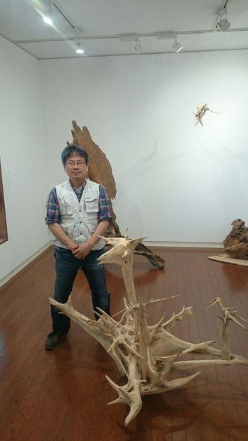 「郡山ヒロアキ展」に寄せてもらいました:藤澤