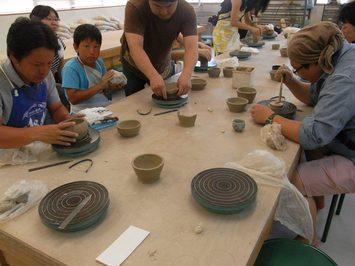 第1回 彫刻コースOB会主催ワークショップ 活動報告:山崎