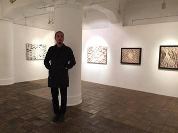 松尾栄太郎 個展 【狭間 2013-2015】に伺いました : 星盛