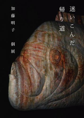 加藤明子 個展 「迷いこんだ帰り道」